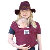 *Beluga Baby Wrap Wine Burgundy - The Mary