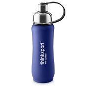 *Thinksport Insulated Sports Bottle - 17oz (500ml) - Powder Coated - Blue