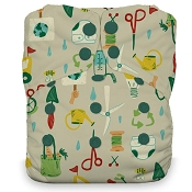 Thirsties NATURAL One-Size All-in-One Cloth Diaper - Snap