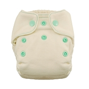 Thirsties Natural Fitted Cloth Diaper - Newborn
