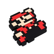 *Bumkins Nintendo Silicone Teether - 8-bit Super Mario