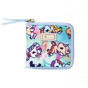 *Tokidoki Watercolor Paradise Small Zip Around Wallet