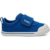 Toms Blue Canvas Tiny TOMS Doheny Sneakers