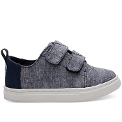 Tiny Toms Lenny - Navy Slub Chambray