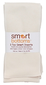 Smart Bottoms Too Smart Organic Inserts - 3 Pack