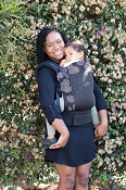 Tula Ergonomic Baby Carrier - Coast Concentric (Mesh) - Standard Size