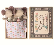 *Maileg Baby Twin Mice in Box