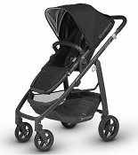 *UPPAbaby Cruz - Carbon Frame/Black Leather