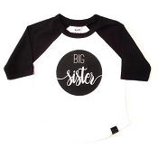 Urban Baby Apparel Big Sister Raglan