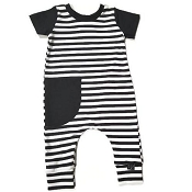 Urban Baby Apparel Monochrome Love Romper