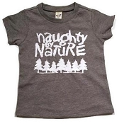 Urban Baby Apparel Naughty by Nature T-Shirt