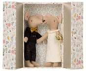 *Maileg Wedding Mice Couple in Box