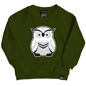 Whistle & Flute Modern Owl Sweatshirt *CLEARANCE*