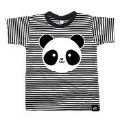 Whistle & Flute Panda Striped T-Shirt