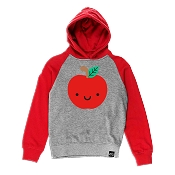 Whistle & Flute Kawaii Apple Hooded Sweatshirt