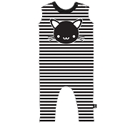 Whistle & Flute Kawaii Cat Romper (Size 3-4 Years)