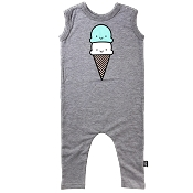 Whistle & Flute Kawaii Ice Cream Romper *CLEARANCE* (5-6 Years)