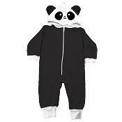 Whistle & Flute Kawaii Panda Hooded Romper (Size 6-12 Months) *CLEARANCE*