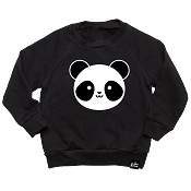 Whistle & Flute Kawaii Panda Sweatshirt (6-12 months) *CLEARANCE*