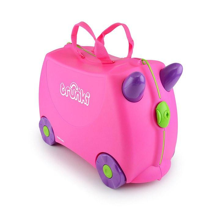 *Trunki Ride-on Suitcase - Trixie Pink