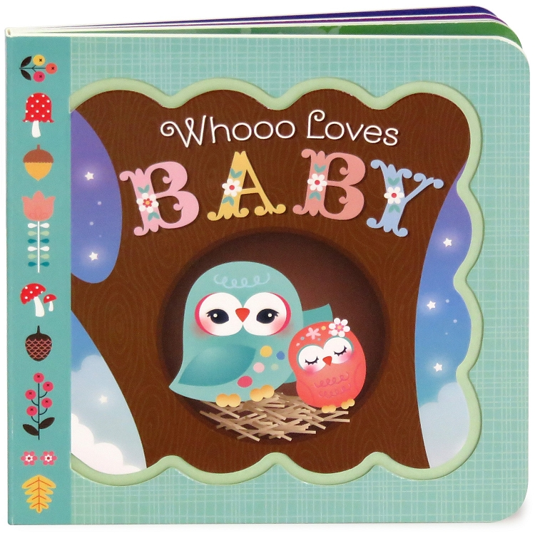 *Little Bird Greetings Keepsake Book - Whooo Loves Baby