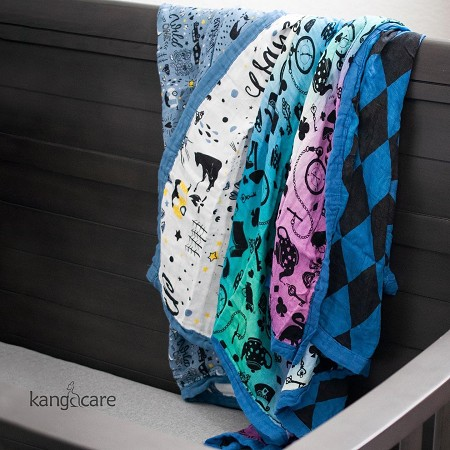 Kanga Care Serene Blanket - Premium Bamboo Double Layer