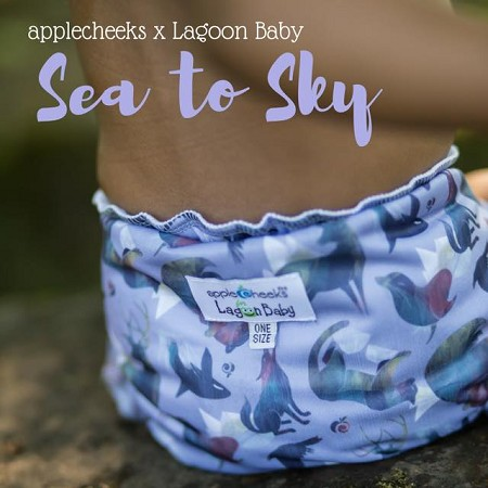 AppleCheeks x Lagoon Baby Retailer Exclusive - Sea to Sky