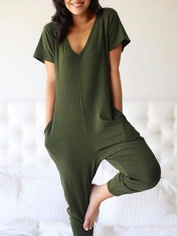*Smash + Tess The Sunday Romper - Olive Green