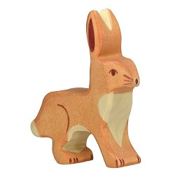 *Holztiger Upright Ears Hare