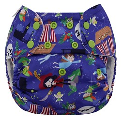 Blueberry Simplex All-in-One One-Size Cloth Diaper - Snap