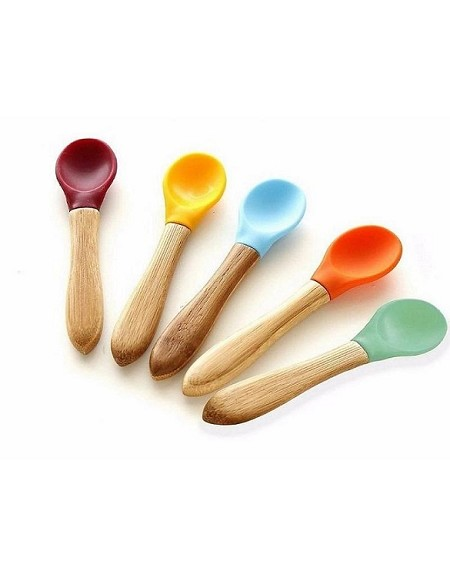 Avanchy Bamboo Baby Spoons - 5 Pack
