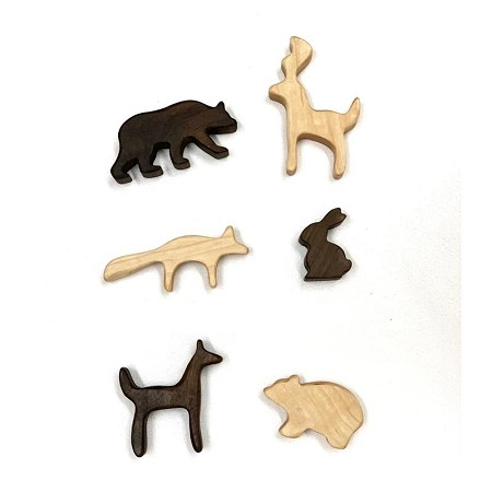 *AW + Co Wooden Woodland Animal Figures