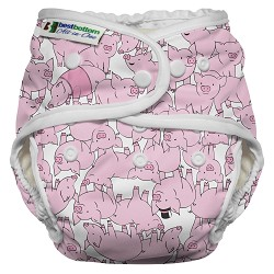 Best Bottom Heavy Wetter All-in-One Cloth Diaper *NEW STYLE*
