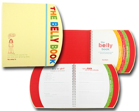 *The Belly Book: a nine-month journal for you and your growing belly