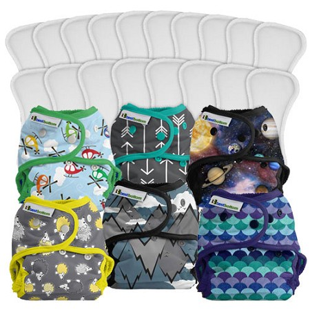 Best Bottom Cloth Diaper - Part Time Package