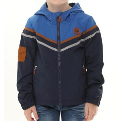 L&P Apparel Lined Outerwear Jacket - Blue