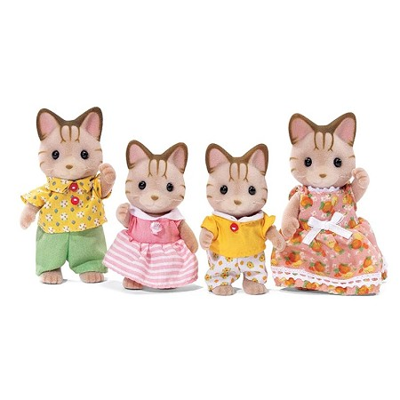 *Calico Critters Sandy Cat Family