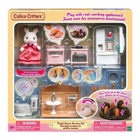 *Calico Critters Playful Starter Furniture Set
