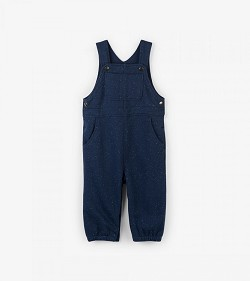 Hatley Navy Knit Baby Overall (3-6 months) *CLEARANCE*