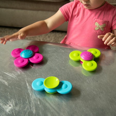 *Fat Brain Toys Whirly Squigz