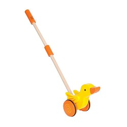 *Hape Duck Wooden Push and Pull Walking Toy