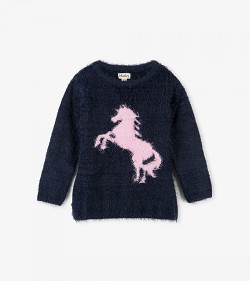 Hatley Playful Horse Fluffy Sweater *CLEARANCE*