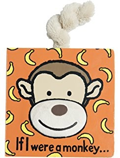 *Jellycat If I Were a Monkey Book
