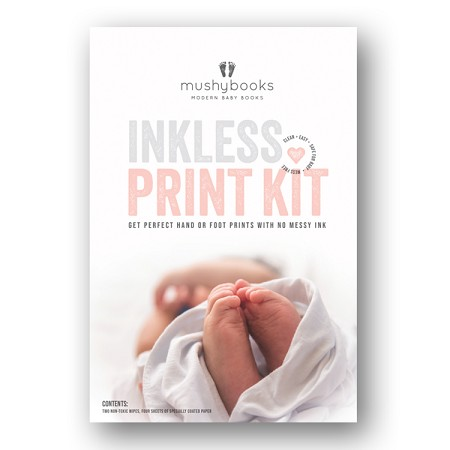 *mushybooks Inkless Print Kit