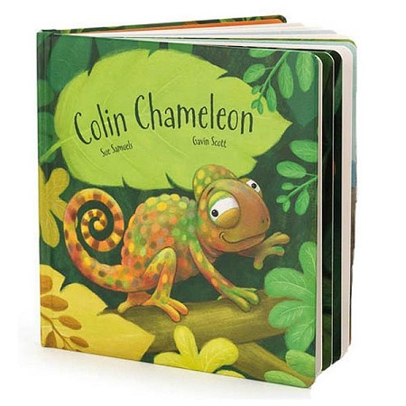 *Jellycat Colin Chameleon Board Book