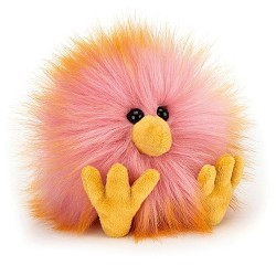 *Jellycat Crazy Chick - Yellow & Pink