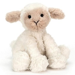 *JellyCat Fuddlewuddle Lamb - Baby 5""
