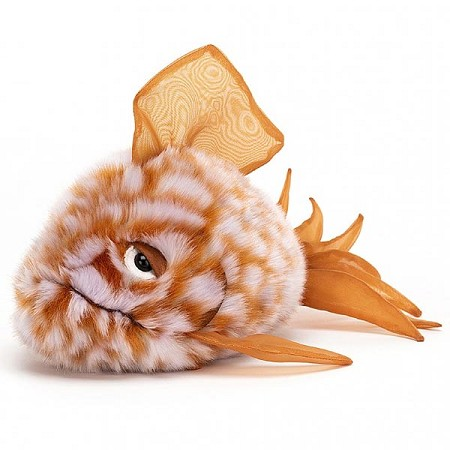 *Jellycat Grumpy Fish Orange - 9