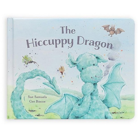 *Jellycat The Hiccupy Dragon Book