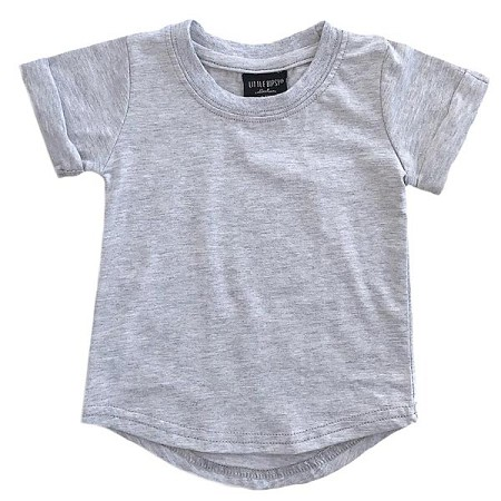 Little Bipsy Collection Basic Tee - Grey
